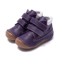bebeBia barefoot zimné - Zack purple